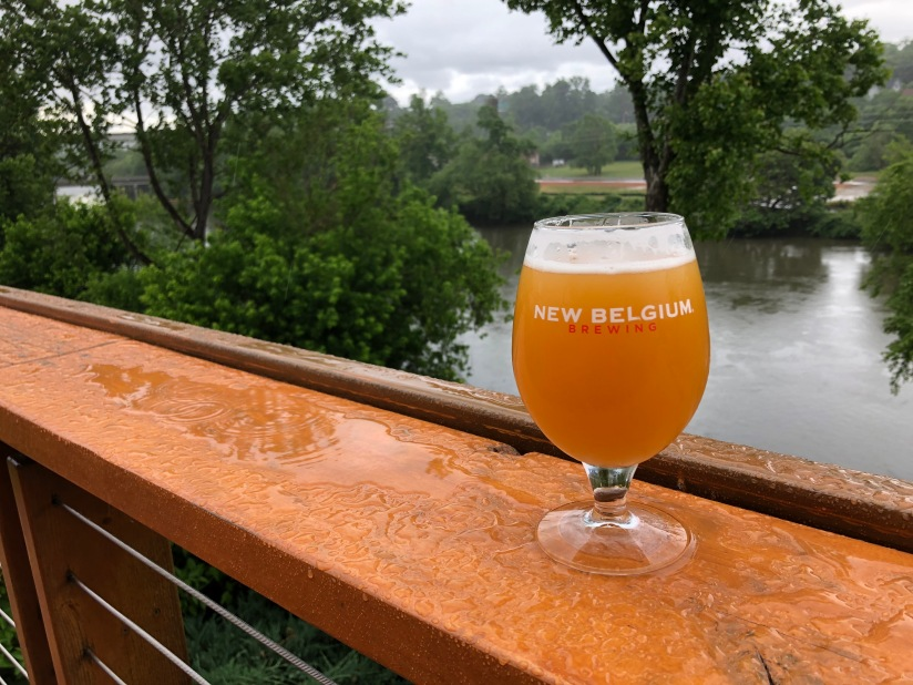 New Belgium Brewing in Asheville, NC