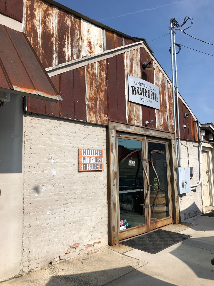 Burial Beer co. in Asheville, NC