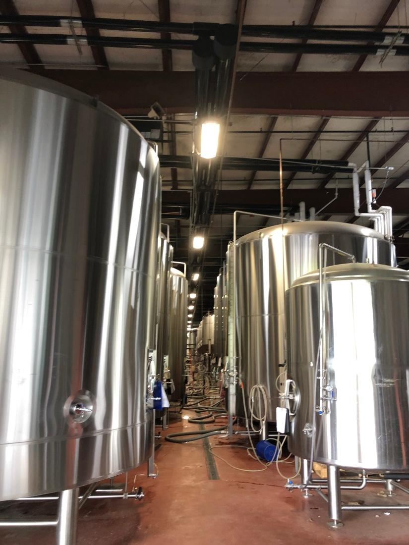 Oskar Blues Brewery in Brevard, NC