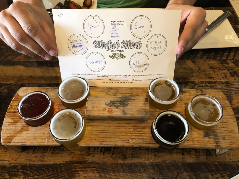 Wicked Weed brewery, Asheville, NC