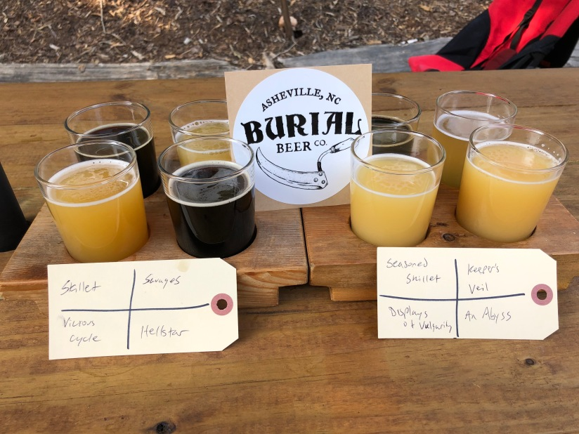 Burial Brewery in Asheville, NC