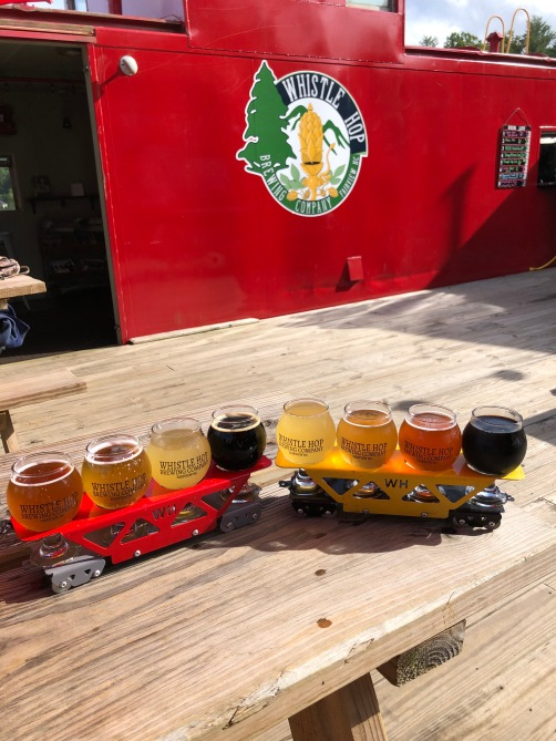 Whistle Hop Brewing Company in Fairview, NC just outside of Asheville